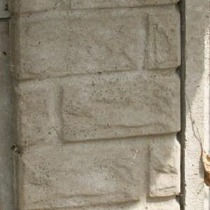 Słupek ozdobny z cegiełki