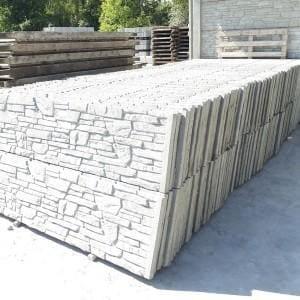 kamienne płyty w wzorze muru 02